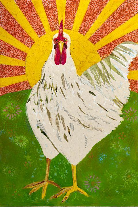 GOOD MORNING SUNSHINE - Darlene Copeland Prater Mixed Media Artist