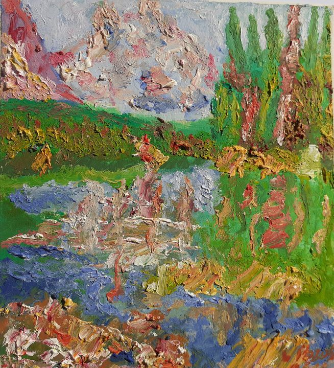 Serie mini paisajes, n° 11 - Loli Pozos