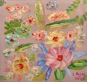Flores flotando