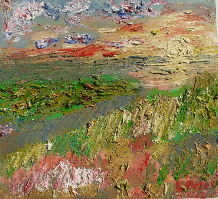 Serie mini paisajes, n°8 - Loli Pozos