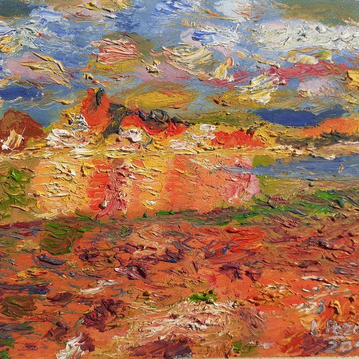 Serie mini paisajes, n°12 - Loli Pozos