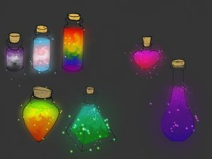 Custom Potion Bottles