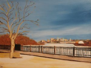 """KC Kaw Point"" $250"