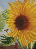 Pollination 11 x14  Original Oil