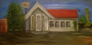 """""""Roadside Diner"""" $125"""