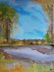 Tranquil Marsh - $150