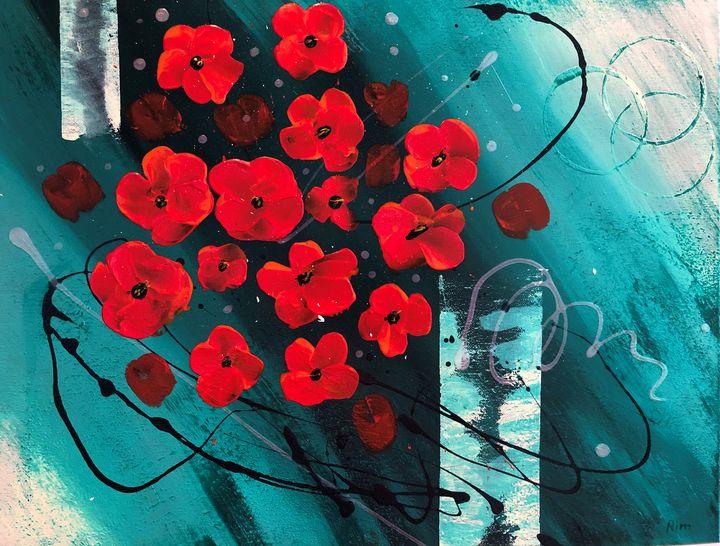 Flowers - Art Studio by Rimma
