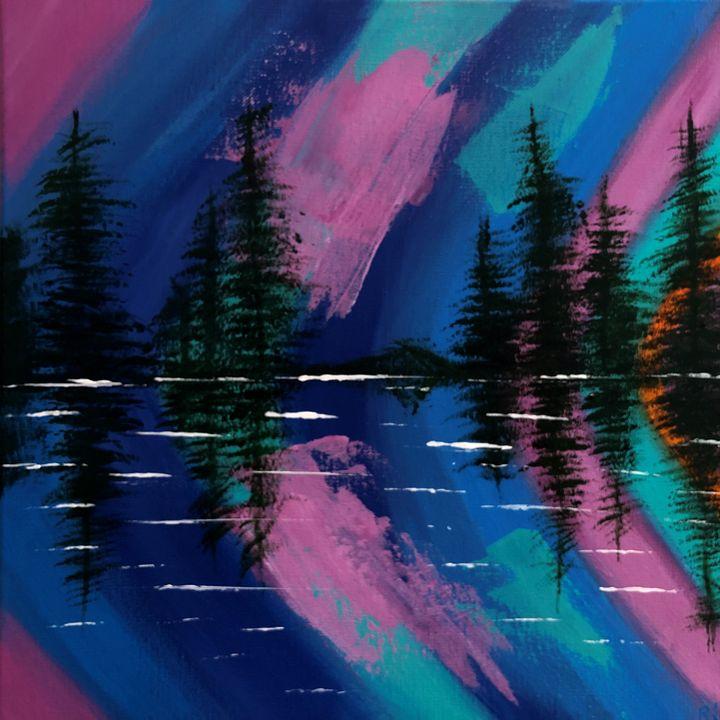 Northern Lights - Art Studio by Rimma