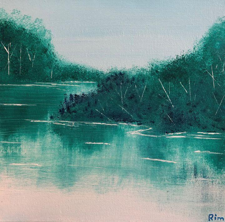 Spring Sanctuary - Art Studio by Rimma