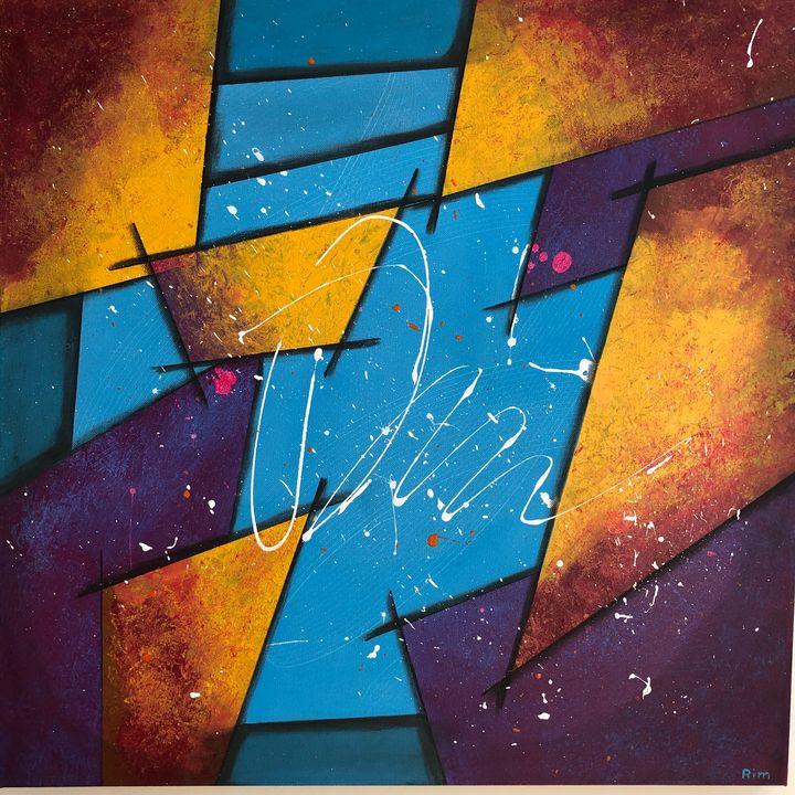 Kaleidoscope - Art Studio by Rimma