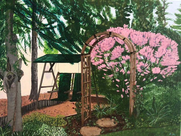 My Backyard - Art Studio by Rimma