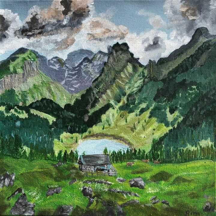 Mountain Sanctuary - Art Studio by Rimma