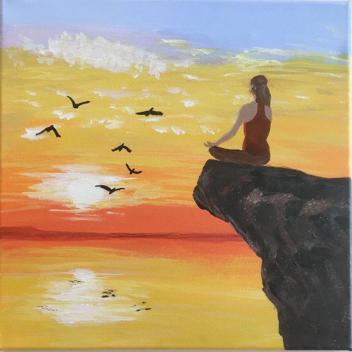 Meditation - Art Studio by Rimma