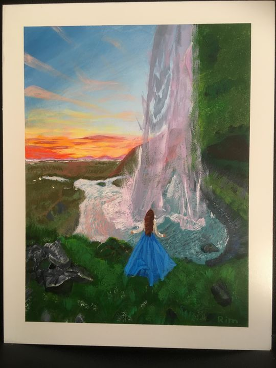 A Princess - Art Studio by Rimma