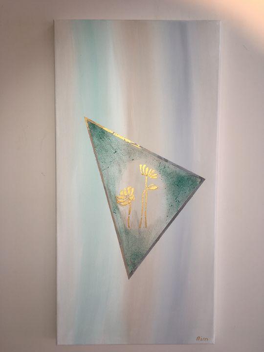 "Spring Dream, Acrylic, 12x24"" - Art Studio by Rimma"