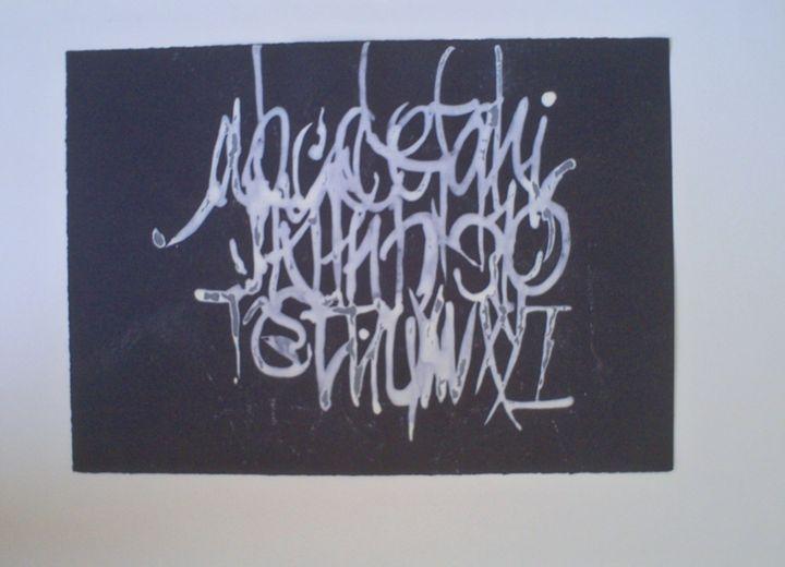 calligraphy 05 - Zoranov porfolio