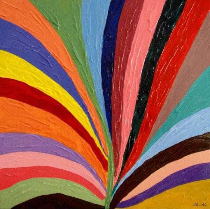 Rainbow - Fleurdelis