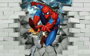 Spiderman Breaking Through The Wall - Fleurdelis