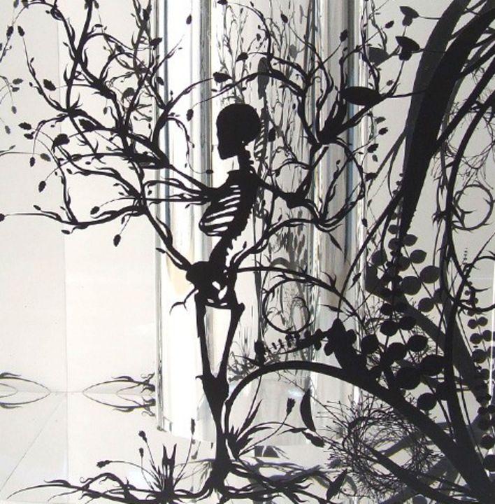 Skeleton art - Fleurdelis