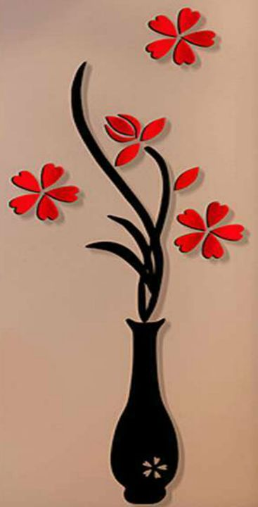 Red Flower - Fleurdelis