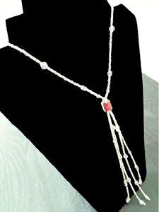 Women Fringe Necklace