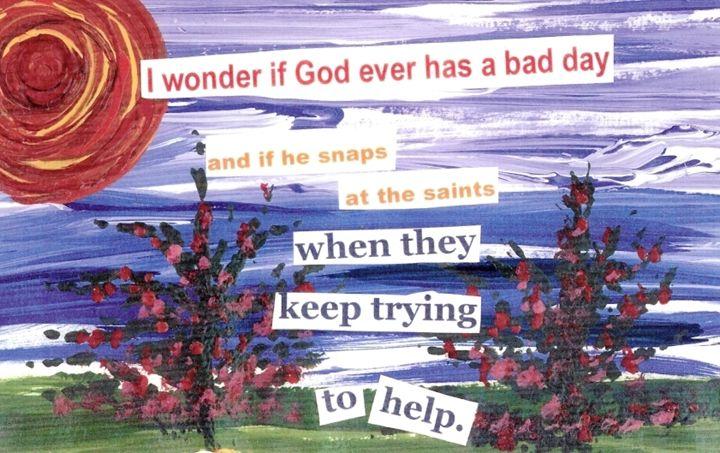 God's Bad Day - Boardwalk Angels