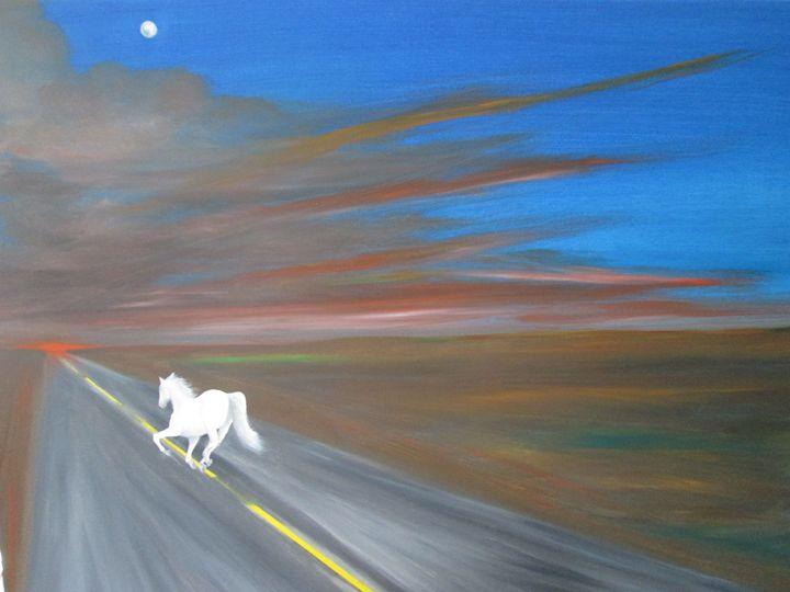 the run (2) - Darius Sanei paintings