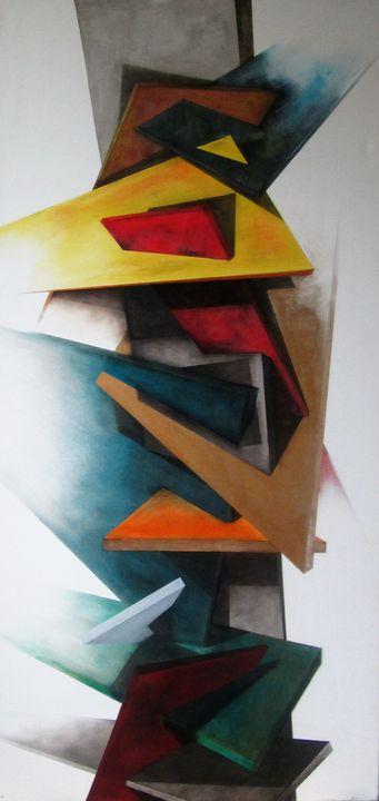 Life - Darius Sanei paintings