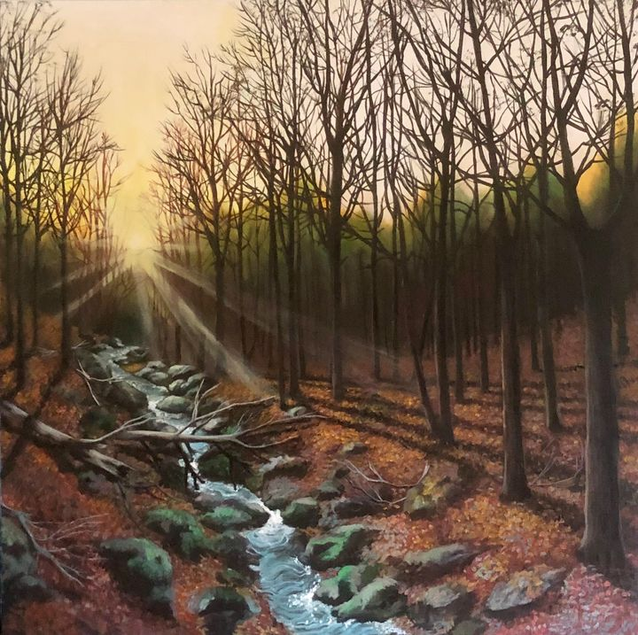Winter Morning Walk - Chemayne Kraal