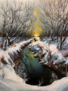 Winter's Morning Glow