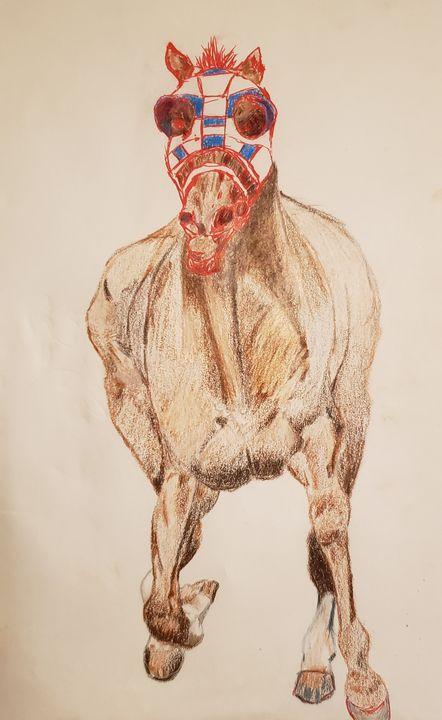 Meth Horse - Art