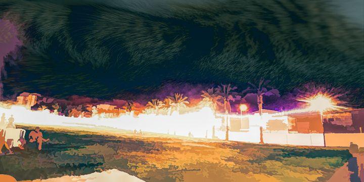 city Park at night 8 - nova