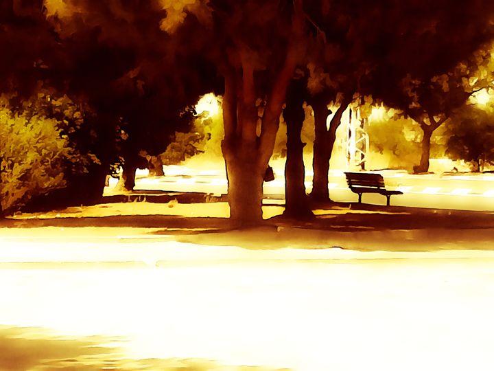 Empty bench - nova