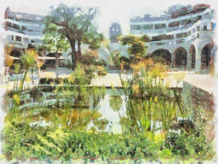 Fish pond 2 - nova