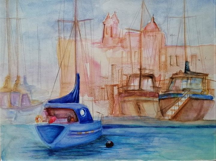 Sailing Away - Chantel Vassallo