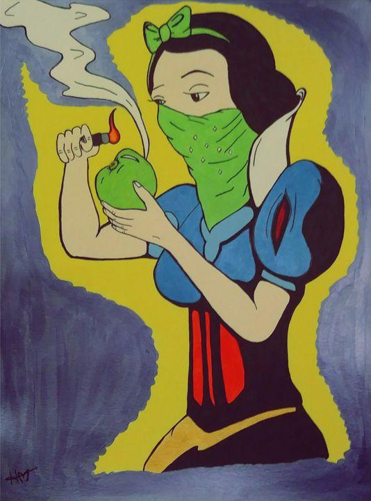 Dark Snow White - Heather Marie's Dark Art Boutique