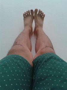 Leg alone