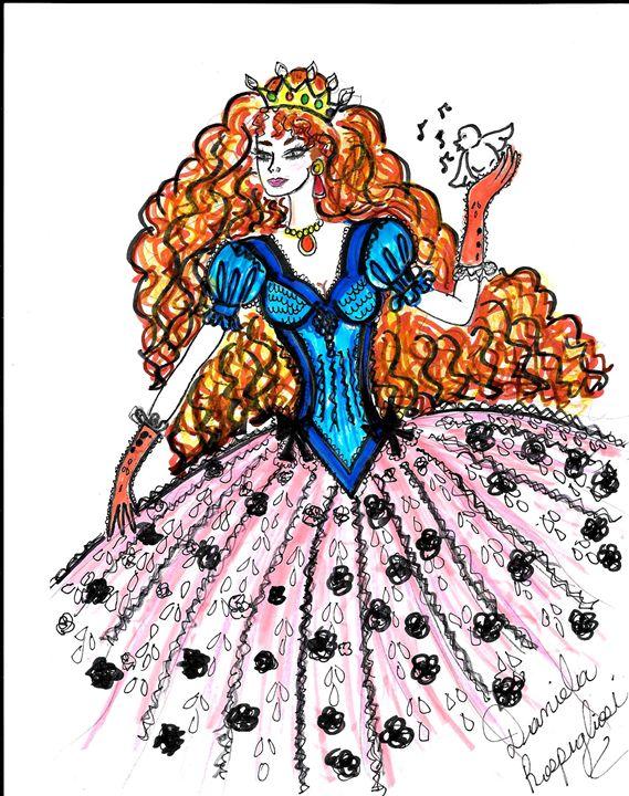 singing princess - Daniela's Closet