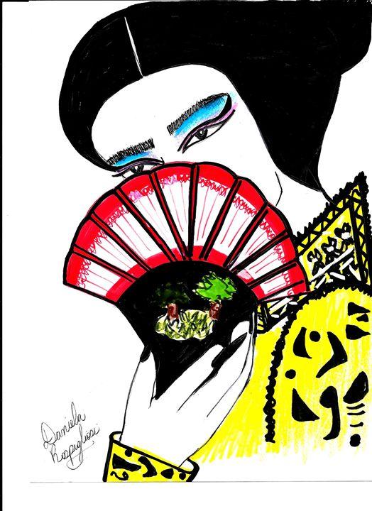 china girl watching you - Daniela's Closet
