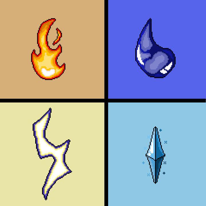 Elements - Shane's Pixel Art
