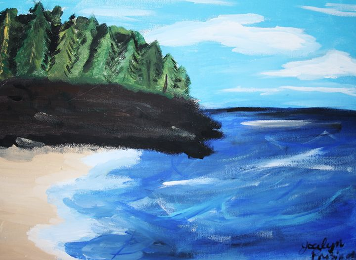 Lawrence town cliffs - JPreisinger Art