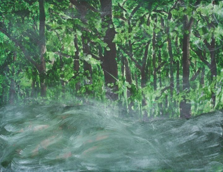 forest - Paintings by Kelsey Fiala