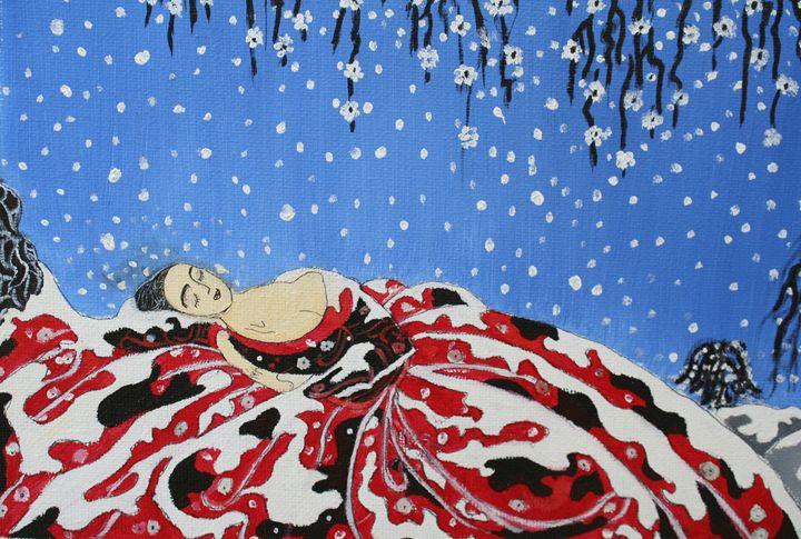 Sleeping women - Paintings by Kelsey Fiala