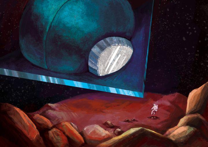Key-frame Illustration (Space Odysse - Harlen Chen