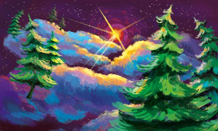Lumpy Space Background - Harlen Chen