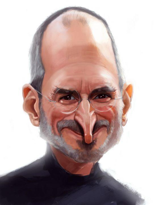 Portrait of Steve Jobs - Hamaki Station