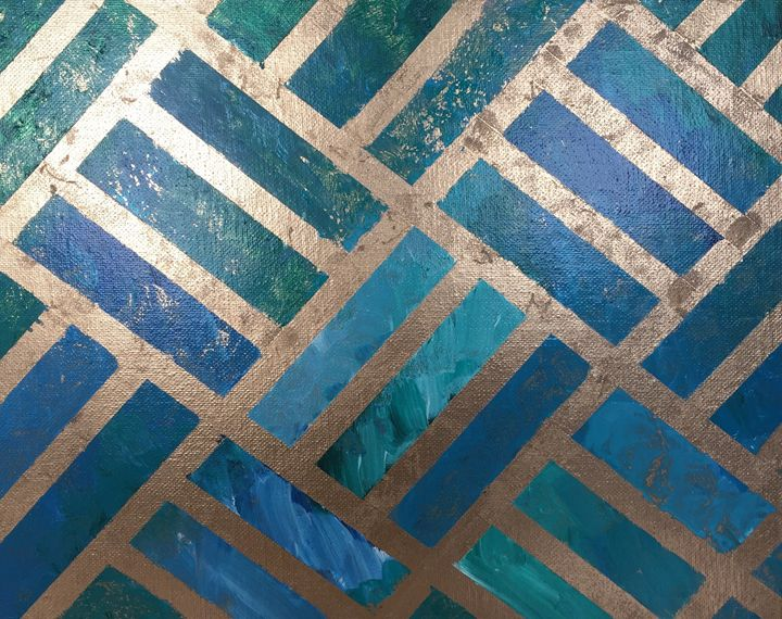 Striped Glimmering Sea - NewYorkCityNikki