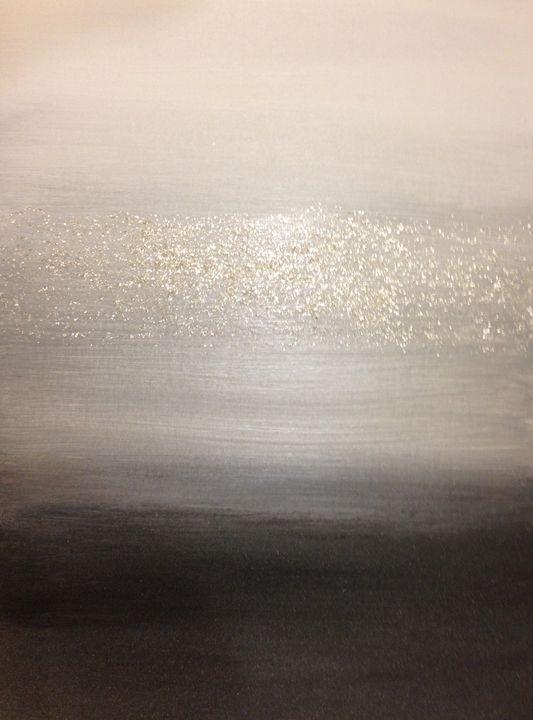 Glittering ombré gradient monochrome - NewYorkCityNikki