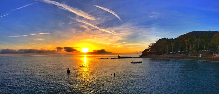 Sunrise on Catalina Island - Eclectic
