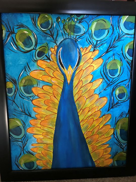 Peacock Oaisis - Kenzie's Gallery